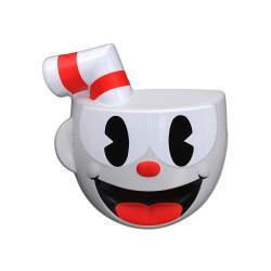 Máscara Cuphead Mugman Infantil Vermelho
