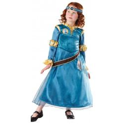 Fantasia Infantil Disney Valente Princesa Merida Luxo
