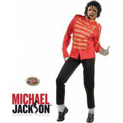 Fantasia Adulto Michael Jackson Jaqueta Luxo