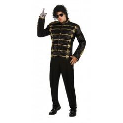 Jaqueta Michael Jackson Adulto Preta Luxo
