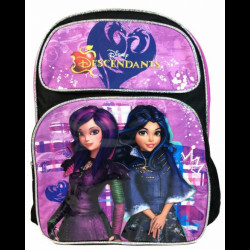 Mochila Lancheira Descendentes Disney Mal Cartoon