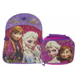 Mochila Lancheira Frozen Disney