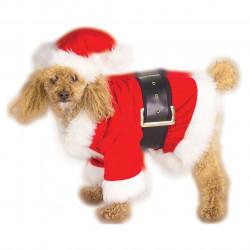 Fantasia para Cachorro Papai Noel Natal