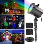 Projetor de Luz Laser Led Festas com 12 Motivos