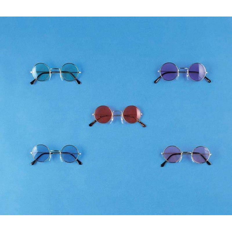 783d1025b8ab5 Óculos Redondos Hippie anos 70