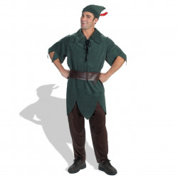 Fantasia Adulto Masculino Peter Pan Luxo