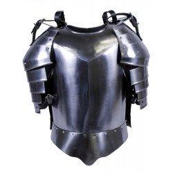 Armadura Medieval Grego Romano Metal Colecionador Prata