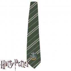 Gravata Casa Sonserina Luxo Harry Potter