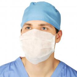 Máscara e Touca Médico Doutor Cirurgião Adulto