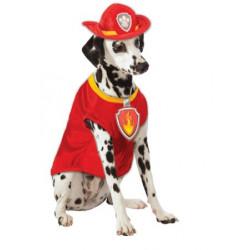 Fantasia Pet Marshall Patrulha Canina Paw Patrol