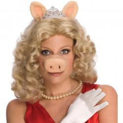 Peruca Adulto Muppets Vila Sésamo Miss Piggy Porca