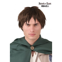 Peruca Attack on Titan Eren Adulto Luxo