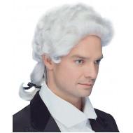 Peruca Colonial Branca Clássica