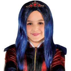 Peruca Descendentes 3 Disney Evie Infantil Luxo
