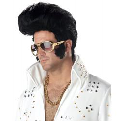 Peruca do Elvis Presley Adulto