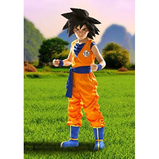 Peruca Goku Dragon Ball Infantil