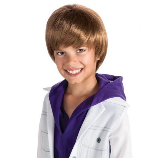 Peruca Infantil Justin Bieber