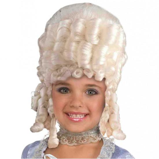 Peruca Maria Antonieta Infantil