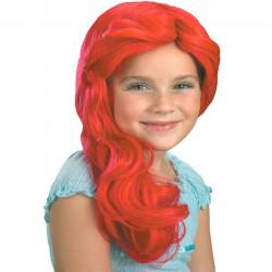 Peruca Pequena Sereia Ariel Infantil