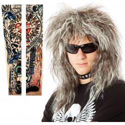 Peruca Rockstsar anos 80 Masculina Jovi