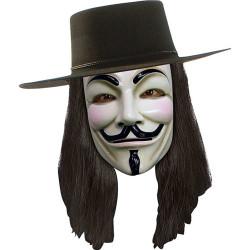 Peruca V de Vingança Vendetta Adulto