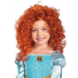 Peruca Valente Princesa Merida Infantil