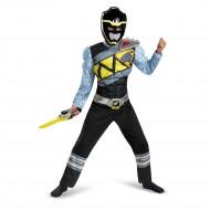 Fantasia Power Rangers Dino Charger Preto Luxo