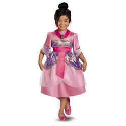 Fantasia Mulan Brilhante Clássica Infantil