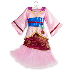 Fantasia Quimono Princesa Mulan Infantil