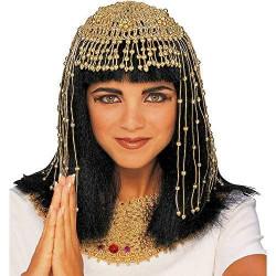 Enfeite de Cabeça Cleopatra Clássico Egípcio