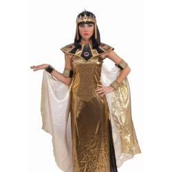 Enfeite de Cabeça Cleópatra Egípcio Dourado