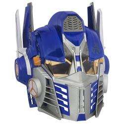 Capacete Optimus Prime Transformers com Voz Luxo