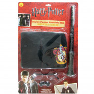 Kit Harry Potter Óculos Capa e Varinha