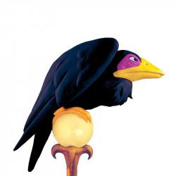 Pássaro Corvo Preto da Bruxa Malévola Bela Adormecida