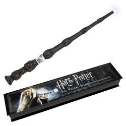 Varinha Harry Potter Dumbledor Luxo com Luz